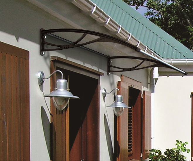 The Byron Door Canopy