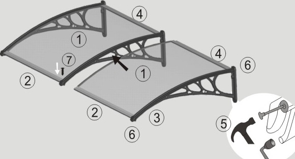 Awning Installation Instructions